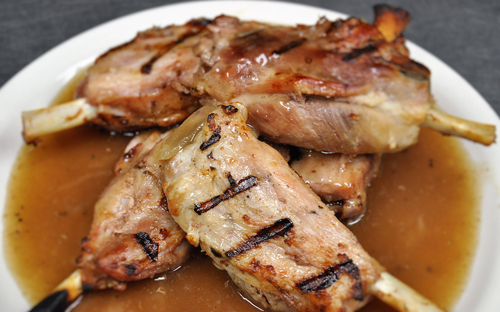BBQ Pork Shanks