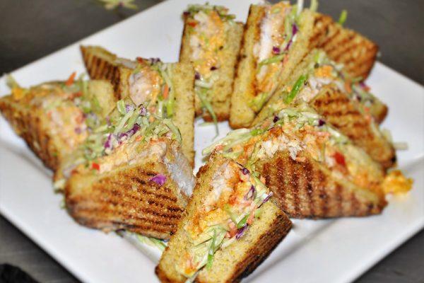Gourmet Grilled Petite Sandwich Wedges