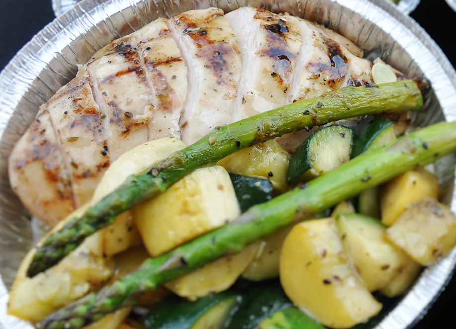 Grilled and Seasoned Chicken Breast